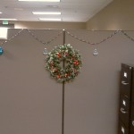 Wreath and Ornaments