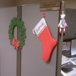 Snow Clown, Stocking and and Wreath