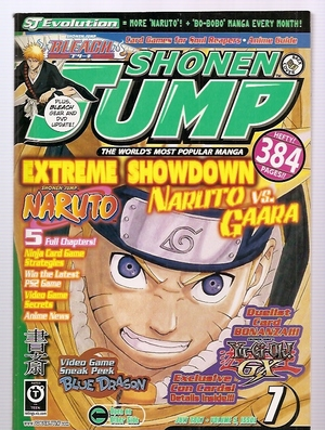 Shonen Jump De-Evolution
