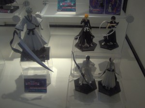 New Bleach figures from Toynami