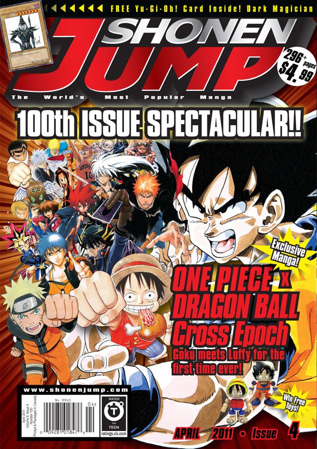 Shonen Jump April 2011