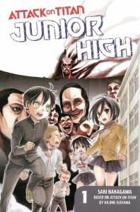Attack on Titan Junior High 1