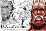 Kodansha popup gallery
