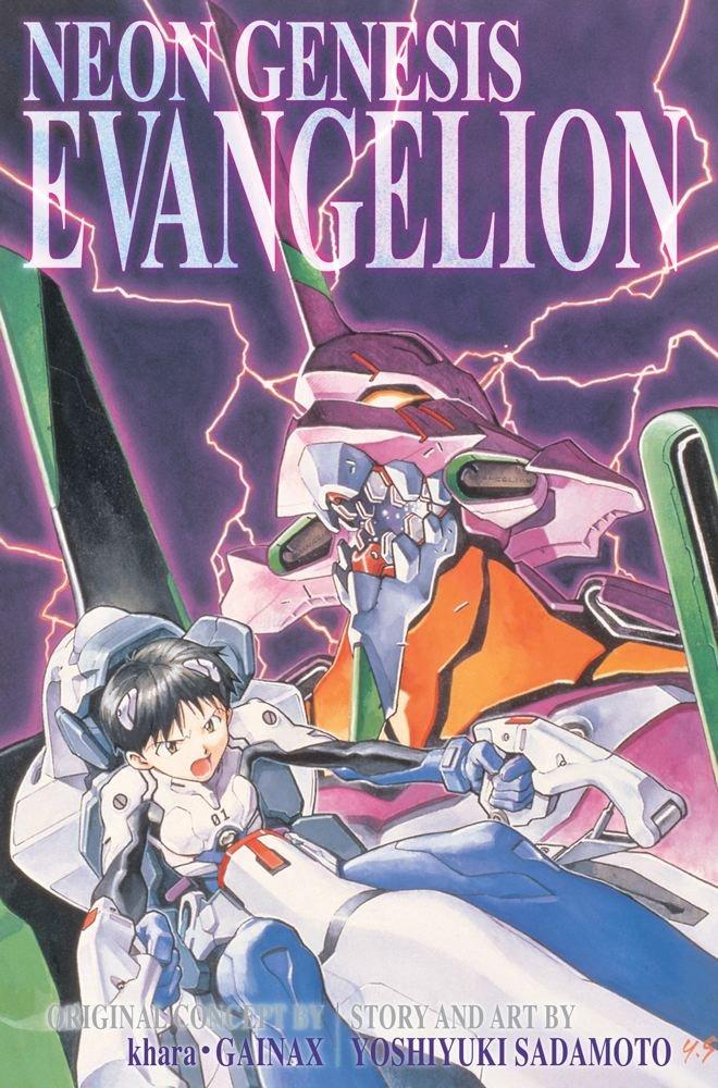 Neon Genesis Evangelion Volume 1-3