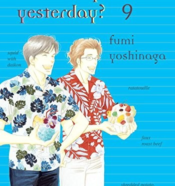 What Did You Eat Yesterday? Volume 6-9
