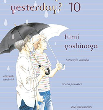 This Week's Manga: Guardians of Yesterday's Eating